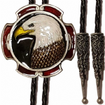Eagle Head Bolo Tie Made in USA. Code BTWW49E